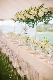 White wedding centerpieces Black White Sweet Pea Wedding Centerpieces Favorite Since Heather And Jason Wanted Their Guests To Be Able To See One Another Over The The Knot White Pillar Candle White Sweet Pea Wedding Centerpieces