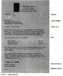 Parts And Styles Of Business Letters