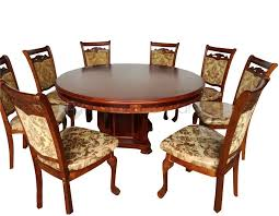 318 round table dining set w lazy susan