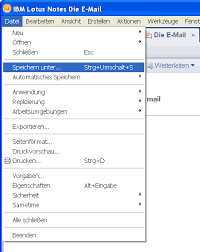 tus notes e mails aus ibm lotus notes speichern hotline blog office