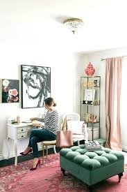 feminine office decor. Pink Office Decor Decorating Ideas Writing Letters In A Feminine Black White And .
