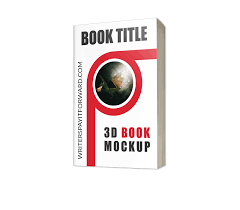 3d book mockup paperback 5 8 writers pay it forward