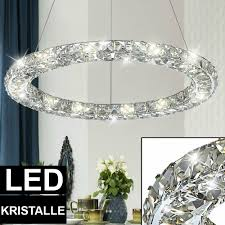 Hänge Pendel Led Design Lampe Decken Kristall Beleuchtung