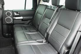 rear seat conversions for used land rover commercial discovery 4 using genuine land rover leather rear