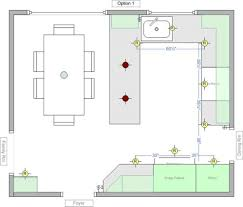kitchen lighting design layout recessed lighting layout for my kitchen best designs