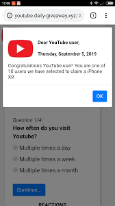 http://youtube.daily-giveaway.xyz . what is that? - YouTube Community
