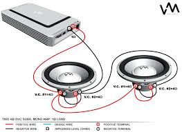 ohm sub wiring diagram svc mono low imp and for subs kicker cvr 2 at dual voice coil wiring diagram best of 2 ohm kicker also