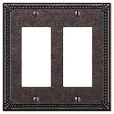 bronze wall plates imperial bead tumbled aged bronze cast 2 rocker wall plate bronze wall switch bronze wall plates