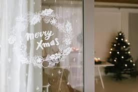 Diy Weihnachtliches Fensterbild Mit Kreidestiften