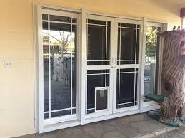 pet ready exterior doors sliding door dog door insert diy petsafe pet screen door medium french