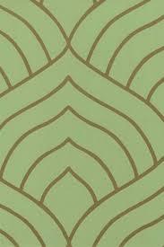 wallpaper pattern modern green. Delighful Green Green  Copper Modern Wallpaper By BurkeDecor  Art Deco  More Intended Pattern A