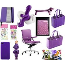 office supplies for cubicles. Stylish Purple Office Supplies From Www.sortingwithstyle.com For Cubicles