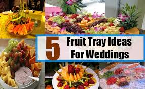 How To Decorate Fruit Tray 100 Fruit Tray Ideas For Weddings Celebration Pinterest Trays 21