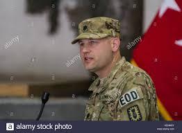 Lt. Col. Bobby Sadler, commander of the 63rd Ordnance Battalion ...