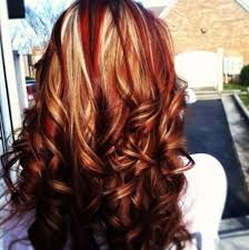 Hair Color Brown With Blonde And