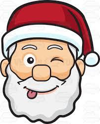 santa claus face images. Contemporary Claus A Teasing Face Of Santa Claus Intended Face Images S