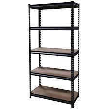 shelf unit 5 tier 225 kg 630dx1240wx1830h