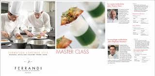 Ferrandi Master Class Moléculaires Raphaël Haumont
