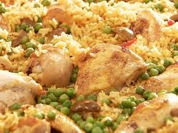 en with rice arroz con pollo
