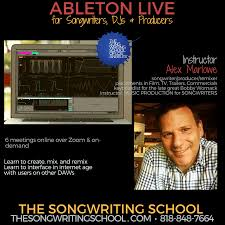 With ableton, i'm only going to import my stems into the arrangement view. Learn Ableton Live Guest Pass To Class 1 Thursday 5 28 7pm Pst The Songwriting School Of Los Angeles