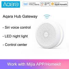 <b>Original Mijia</b> Aqara Hub Gateway with <b>Led</b> night <b>light Smart</b> work ...