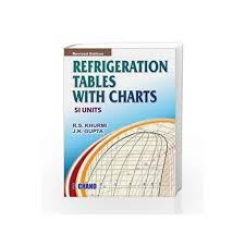 Refrigeration Tables With Chart By Khurmi R S Buy Online Refrigeration Tables With Chart Book At Best Price In India Madrasshoppe Com