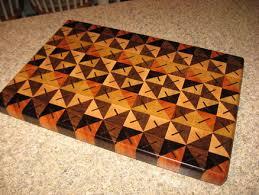 Cutting Board Patterns Best Quilt Pattern Cutting Board By Amagineer LumberJocks