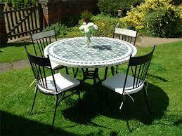 beautiful garden table chairs new mosaic furniture tumble table and chair sets the garden