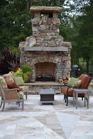 freestanding outdoor fireplace patio traditional with container regard to idea 14