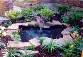 best outdoor fountain pond small backyard ponds bing images ideas for the outside of our