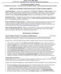 Military Veteran Resume Examples Very Attractive Veteran Resume Help Classy Veteran Resume
