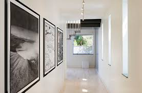 hall design ideas modern room gallery view in gallery hallway with large artwork hallway decorating ideas th