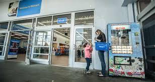 Mini Melts Vending Machine Classy Walmart Expands Mini Melts Vending Kiosk Pilot To 48 States