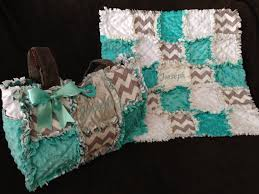 Custom made rag quilt diaper bag and quilt for baby boy or & Like this item? Adamdwight.com
