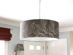 image of drum light fixtures black