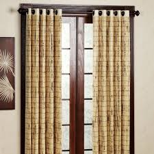 cool bamboo window panels bamboo curtain panels 96 brown curtain window window
