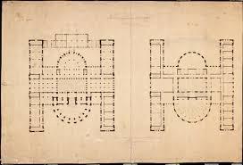 file langlet s floor plan of norwegian parliament building stortingsbygningen 1860 jpg