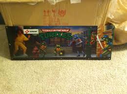 Ninja Turtles Arcade Cabinet Classic Teenage Mutant Ninja Turtles Arcade Marquee For Sale