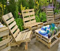 ... Patio Furniture out of Pallets Wood