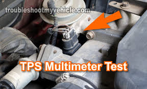 part 1 how to test the tps (1995 1997 2 3l ford)  at How To Remove Tps Wiring Harness From Tps Ford Explorer