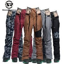 Online Shop StormRunner Brand <b>Ski</b> Pants Women Snowboarding ...