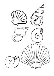 Coloriage Coquillage De Mer Colorier Dessin Imprimer Cumple