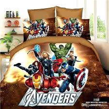 marvel queen size bedding avengers full set creative comforter bed rose printed romantic comics