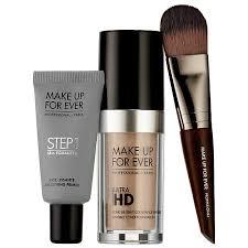 starter kit make up for ever ultra hd foundation smoothing skin equalizer