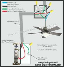 remarkable how to wire a ceiling fan with light fan installation wiring 1