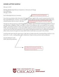 How To Write A Rocking Cover Letter Uchicago Career Advancement