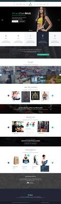 gym website design 194 best fitness website images on pinterest website designs