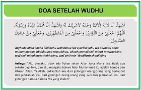 Maybe you would like to learn more about one of these? Niat Wudhu Dan Doa Sesudah Wudhu Lengkap Beserta Latin Dan Artinya Doa Harian Islami