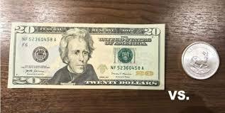 20 Dollar Bill Vs 1oz Silver Coin Data Driven Investor