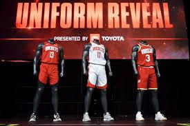 Houston Rockets Depth Chart Rockets Unveil New Uniforms The Dream Shake
